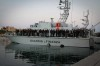 Some 2,000 people flee from Tripoli by boat to Italy and Malta