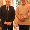 Rawlings Confers With Egyptian Prime Minister