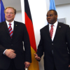 FOREIGN POLICY: Germany's Development Minister Niebel meets Burundi Foreign Minister Kavakure in Berlin