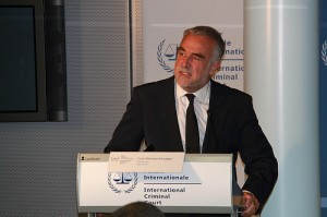 ICC Prosecutor Luis Moreno-Ocampo at the 16 May 2011 Press Conference regarding the situation in Libya/Photo: ICC-CPI