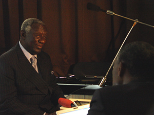 President John Agyekum Kufuor in interview with ANA/Photo: BERKANE