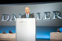 Dr. Dieter Zetsche, Chairman of the Board of Management of Daimler AG and Head of Mercedes-Benz Cars/Photo: Daimler