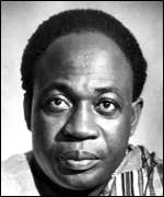 Ghana's former President, Dr Kwame Nkrumah