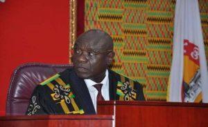 Edward Doe Adjaho, Speaker of Parliament/Photo Graphic