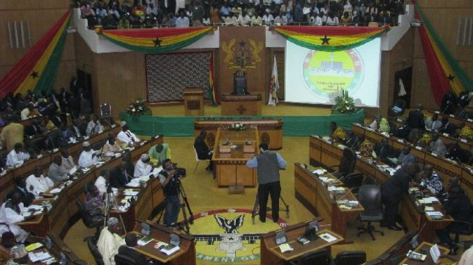 Ghana parliament in session/Photo: Graphic Online