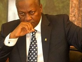 John Dramani Mahama, Ghana's President