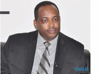 Shiferaw Shigute Head of the Office of the EPRDF/Photo: ENA