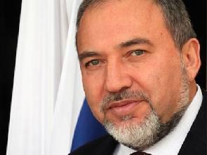 Israeli Foreign Minister Avigdor Liberman