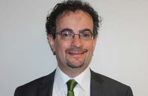 The British High Commissioner to Ghana Jon Benjamin