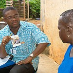 Ghana dracunculiasis certification Photo: WHO G. Biswas