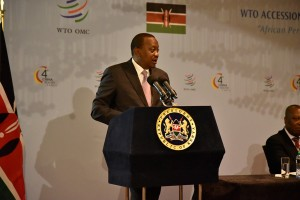 President Kenyatta of Kenya