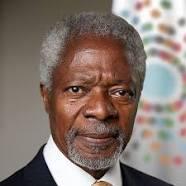 Mr Kofi Annan, former UN Secretary General
