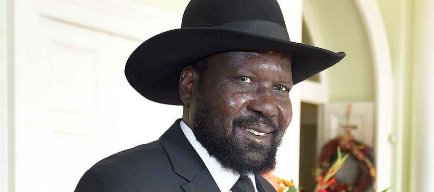 Salva Kiir Mayardit, South Sudan,